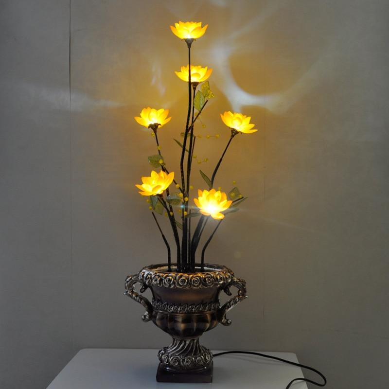 Творческий Винтаж Ретро светодиодный энергосберегающие декоративные огни Ночного Света китайский стиль гостиной спальни мобильных Новый