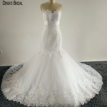 DENIA'S BRIDAL Mermaid Wedding Dresses Floor Length