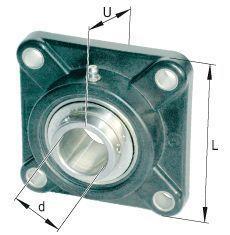 Bearing UCF218 aperture = 90mm ruru15070 to 218