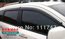 Quality! Side Door Window Visor Vent Sun Rain Guard Shield Delflector for Dodge Journey Fiat Freemont 7seat JC 2012 2013 2014