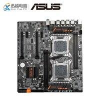 HUANAN Чжи оригинальный X79 VER: AA1 рабочего Материнская плата X79 Поддержка LGA 2011 двойной Процессор DDR3 REG/ECC 1866 мГц 4*32 г SATA3 USB3.0 E ATX