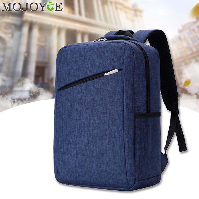 Simple Men Travel Backpacks Oxford Laptop Backpack for Business Teenagers Shoulder Bag Large Capacity Students Bag Male Mochilas students 16 inch laptop backpack women oxford shoulder bag school computer travel backpacks preppy style bags for teenagers