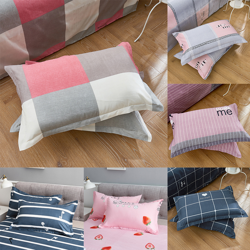 1Pc 48 Cm * 74 Cm Beauty Flowers Printed Pillow Case 100% Polyester Cushion Case Cover For Bedroom With 16 Patterns Optional