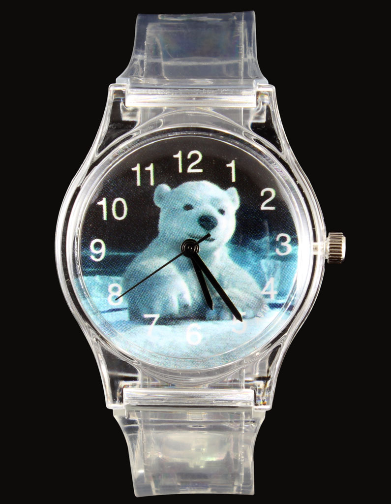 eyes newborn bear polar joy open s watches as cub her pin