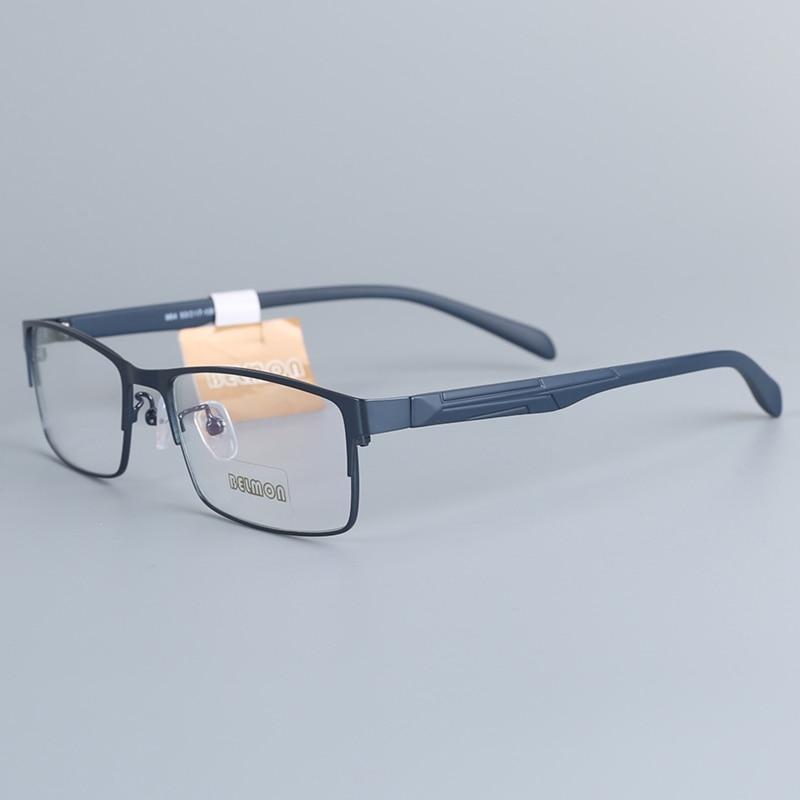 Spectacle Frame Men Eyeglasses Nerd Computer Optical Myopia Prescription Clear Lens Eye Glasses Frame For Male Eyewear 964 in Men 39 s Eyewear Frames from Apparel Accessories