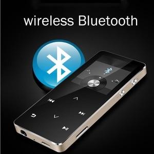 Image 1 - MP3 Player with bluetooth touch screen hi fi fm radio mini USB mp3 sport MP 3 HiFi music player portable metal walkman