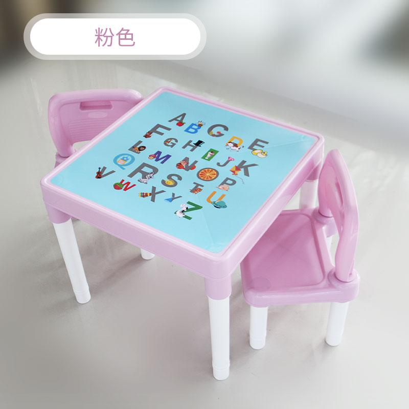 Wondrous Us 59 92 Childrens Table And Chair Set Kindergarten Baby Study Table And Chair Childrens Desk Chair Home Plastic Toy Writing Desk In Children Squirreltailoven Fun Painted Chair Ideas Images Squirreltailovenorg