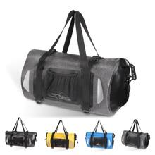 Новинка 20-35 л водонепроницаемая сумка для сухого влажного разделения для плавания комбинированная сумка для сухого влажного плавания большая емкость для пляжа и бассейна Спортивная вместительная сумка