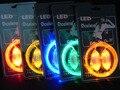 1 Par de Luz Led Luminosos Cadarço cadarços Glowing Vara do Fulgor Piscando Colorido Neon chaussures 2016 led cadarço Cadarço