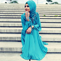 Oumeiya OMY189 Fashion Turkish Islamic Hijab Long Dress Evening Gowns Long Sleeve Muslim Evening Dress For Muslim Prom Dresses