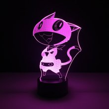Cool Boys Led Nightlight Morgana Game Persona 5 Night light for Childrens Birthday Gift Best Dropshipping Usb Lamp 3d