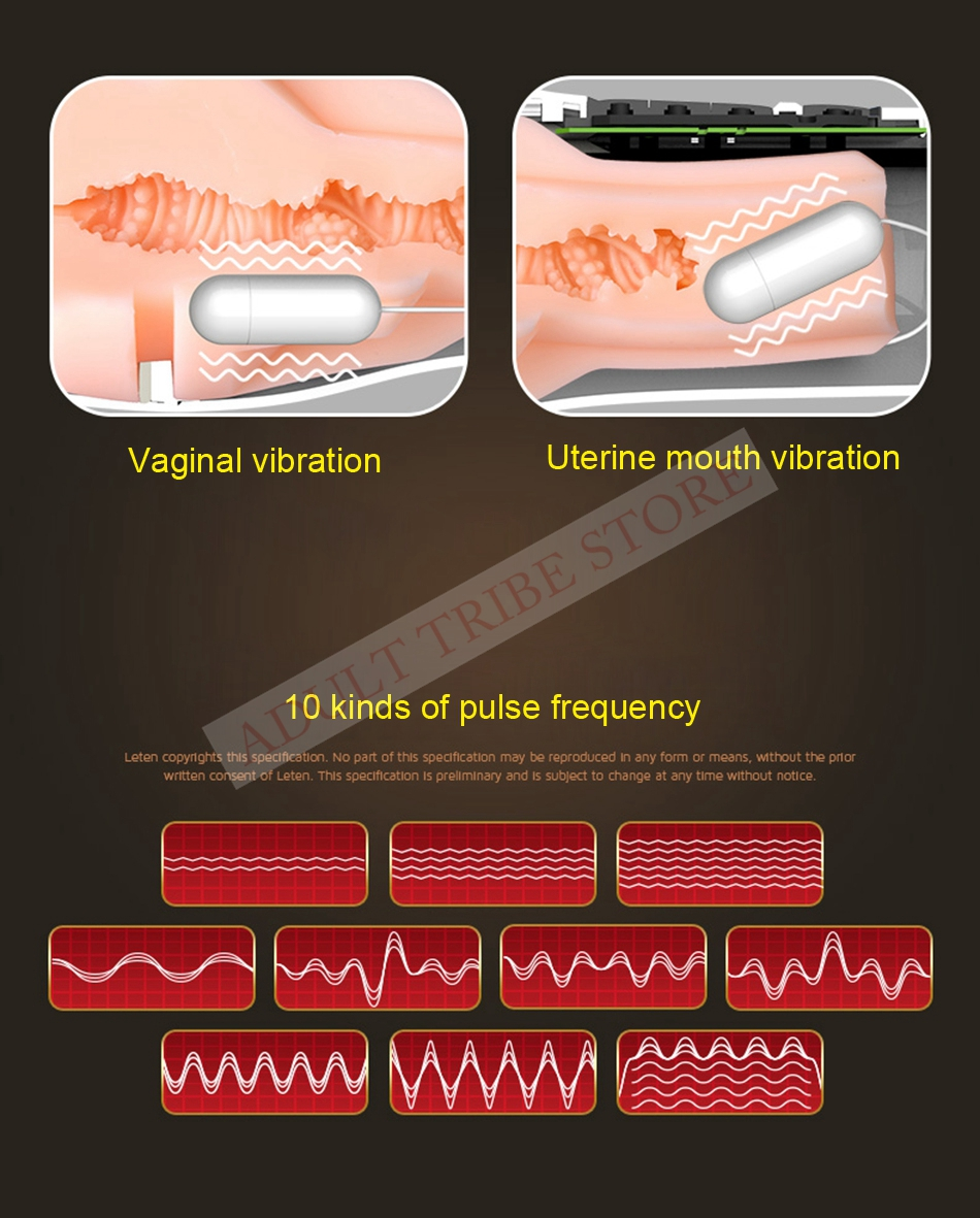 Clip Sucking Artificial Vagina Copy Male Masturbator Voice Interaction Sex Machine Vibration Adult Sex Toys for Men