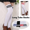 Hot New Sexy Women Girls Long Stockings Over The Knee Socks Winter Warm Thigh High Striped Fashion stockings For Dating 8 Colors