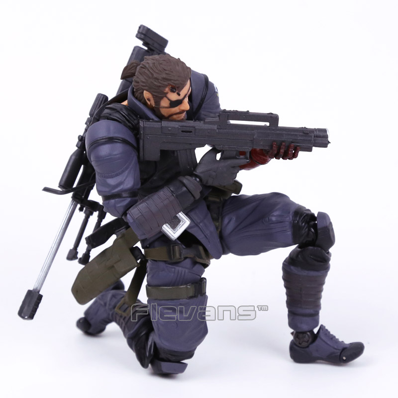 Powered by Revoltech Metal Gear Solid V The Phantom Pain Venom Snake PVC Action Figure Collectible Model Toy 1 6 scale model metal gear solid v the phantom d dog diamond dog about 23cm collectible figure model toy gift