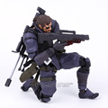 Powered by Revoltech Metal Gear Solid V The Phantom Pain Venom Snake PVC Action Figure Collectible Model Toy
