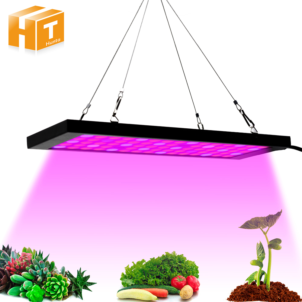 Ultrathin LED Grow Lights Full Spectrum 40W 85-265V for Indoor Greenhouse Tent Veg Bloom Plants LED Growing Lamp Light 300w double chips led grow lights indoor lamp for veg bloom medical plants grow tent overseas warehours fast deliver not rust
