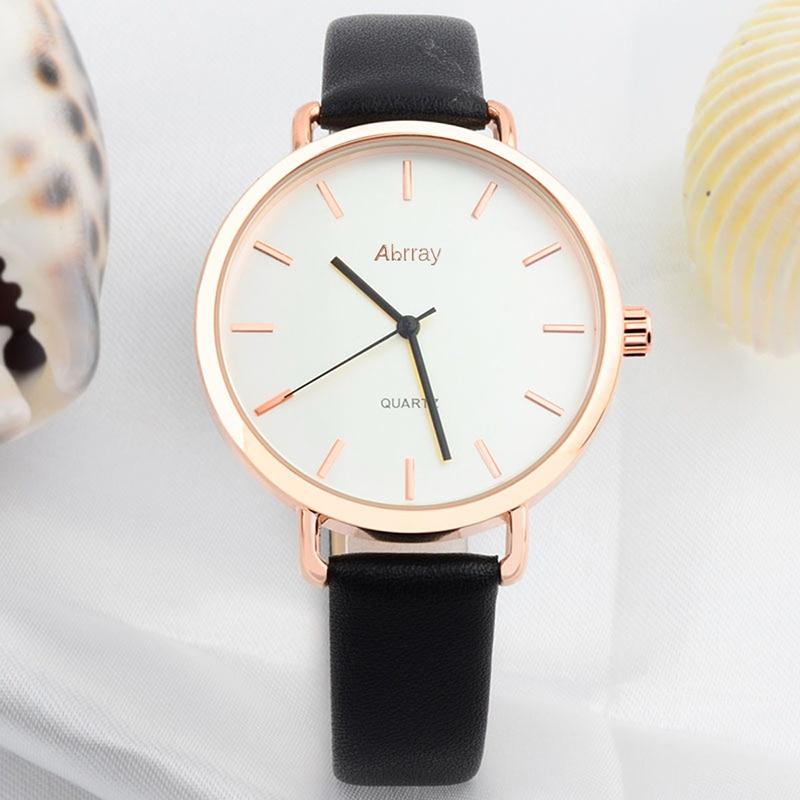 Abrray Fashion Dameshorloge Luxe Merk Lederen Band Horloge - Dameshorloges - Foto 5