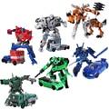 Горячая Преобразование 6 Шмель Мегатрон Автомобили Роботы Фигурки Классические Игрушки для мальчиков juguetes Brinquedos Игрушки для подарков
