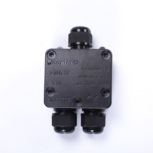 цена на Waterproof junction box waterproof box IP68 grade junction box with terminal one into two out waterproof box