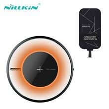 Nillkin chargeur sans fil rapide dorigine Qi chargeur pour Samsung galaxy ys9 S8 S7 S6 Qi chargeur sans fil pour iphonepour xiaomi mi