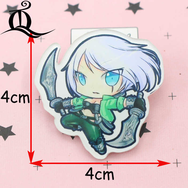 Apparel Sewing & Fabric Badges Jl 1pcs Mix Lol Girl Cartoon Icons On The Pin Kawaii Icon Badge Bacges On Backpack Badges For Clothing Acrylic Badges Z25