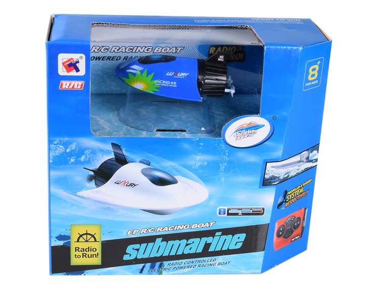 Create Toys Sea Wing Star 3314 3CH 27/40Mhz Mini RC Submarine Remote Control Electronic Toy Gift For Children