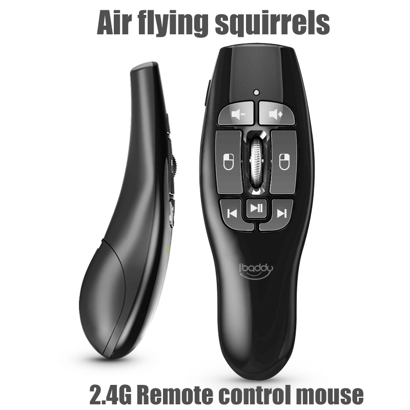New 2.4G Wireless Air Mouse Remote Control Air Flying Squirrels For Computer Music Smart TV Box Mouse Projection Room HTPC