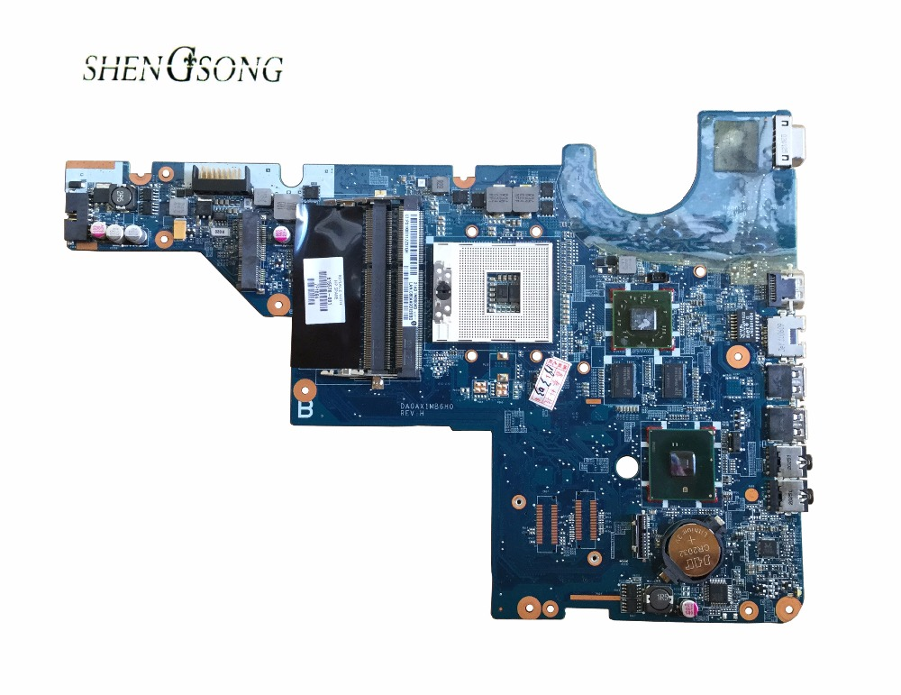 615578-001 Free Shipping For HP motherboard CQ42 G42 G62 CQ62 laptop motherboard DAOAX1MB6F0 DA0AX1MB6H0 100% Fully Tested free shipping 616448 001 for hp cq62 notebook pc motherboard 100% tested good