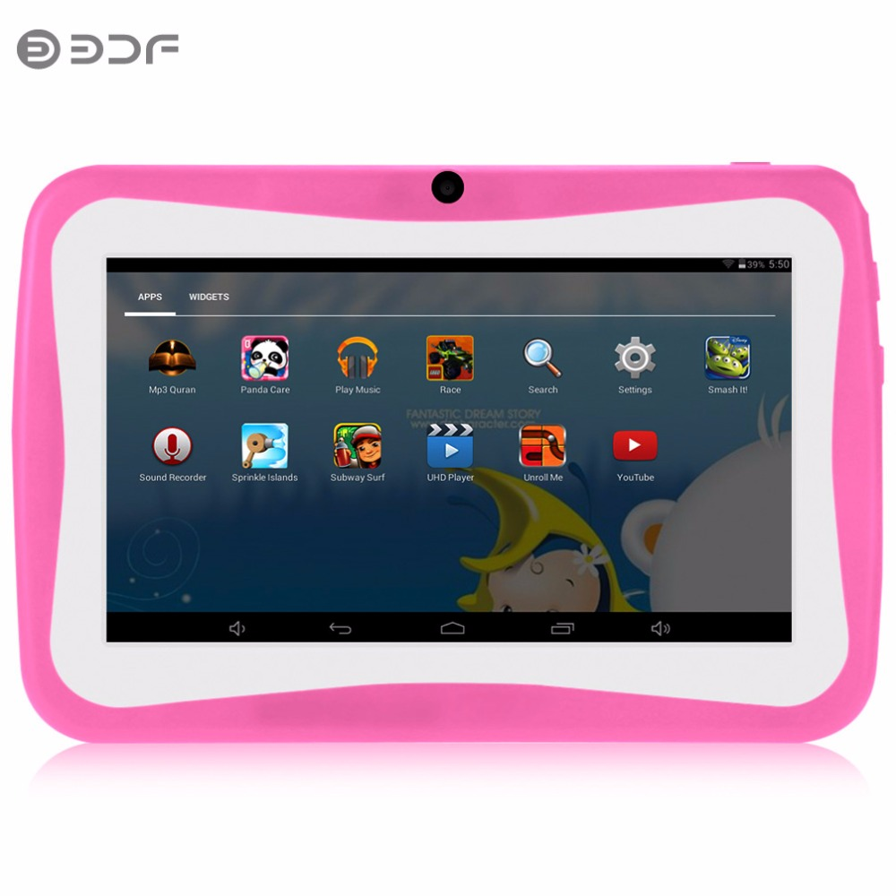 New Design 7 Inch Kids Tablets pc WiFi Quad core Dual Camera 8GB Android 4.4 Children's favorites gifts 8 9 10 inch tablet цена