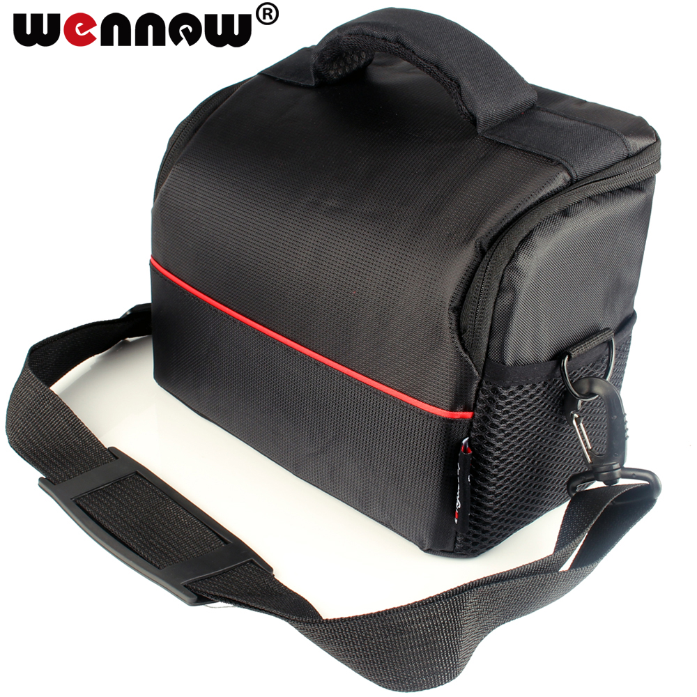 Waterproof Nylon Camera Bag Case for Canon EOS Rebel SL2 T7 T7i T6i T6s T6 T5i T5 T4i T3i T3 T2i T1i XTi XSi 4000D 2000D Cover image