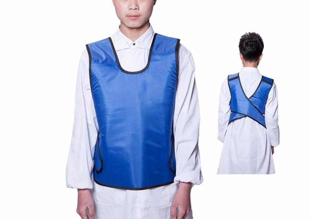 X-ray Protective Short Apron 0.35mmpb,X-ray Protective Medical Clothing.Hospital, Mine, Factory, Clinic Anti-radiation Jacket.