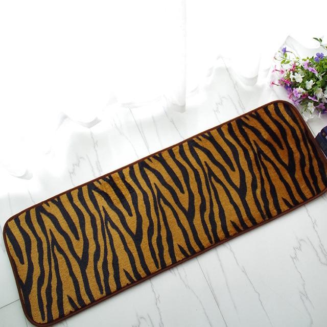 Leopard Kuche Boden Teppich Waschbar Schlafzimmer Matte Im Freien