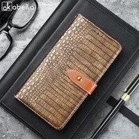 AKABEILA Retro PU Leather Case For Oukitel K3 Case FLip Wallet Cases For Oukitel K3 Cover