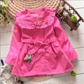 BibiCola Retail 2015 children clothing girls fall jackets outerwear spring autumn coat baby girl fashion kids jacket