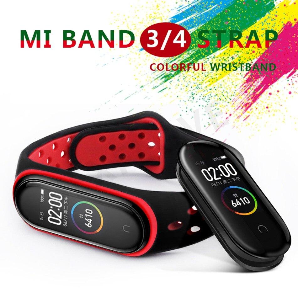 Clear Mi Band 4 3 Strap Wrist Strap For Xiaomi Mi Band 3 4 Bracelet Silicone Miband 3 4 NFC Accessories Smart Mi band4 Correa 1