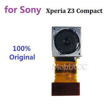 Brand New Original for Sony Xperia Z3 Compact Back Camera; Rear Camera 20.7MP Replacement Part for Xperia Z3 Mini D5803 D5833 for sony xperia z3 compact d5803 d5833 lcd display digitizer sensor glass panel z3 mini assembly with frame phone parts lcd