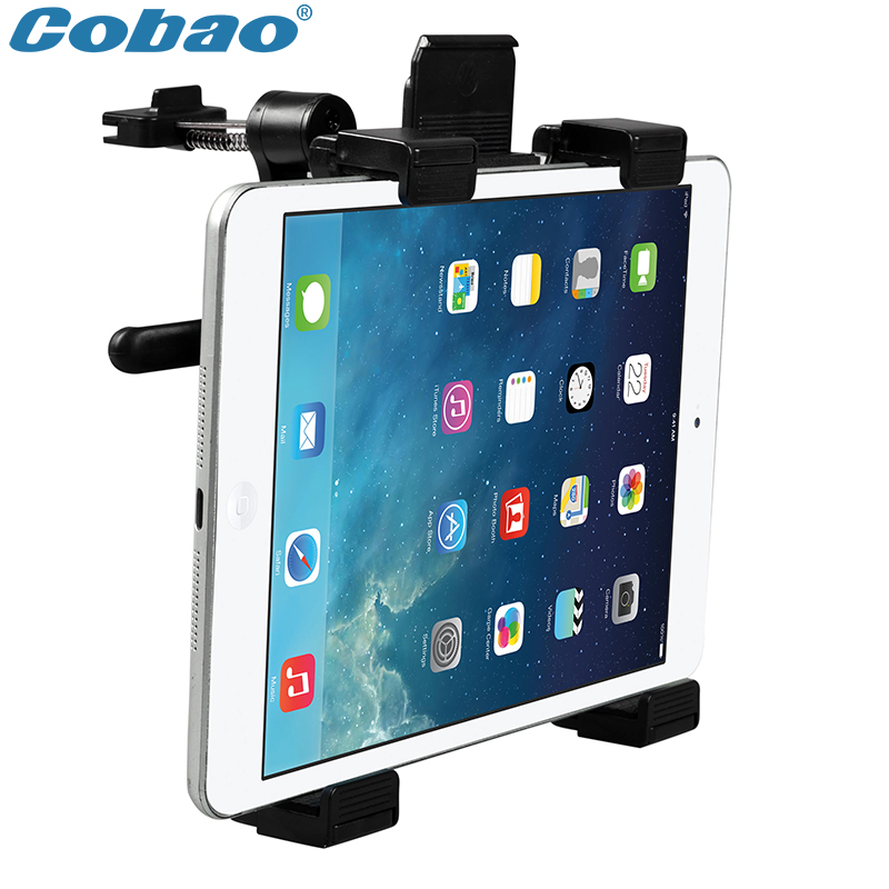 Universal tablet PC stand air vent 7 8 9 10 11 inch tablet car mount holder suitable for Ipad and Ipad mini universal crazy horse leather stand cover for ipad air sony xperia tablet z 10 inch tablet pc black