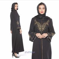 Embroidery Muslim Robes syari butterfly beading muslim abaya Arab muslim Dresses Musical Robe prayer dress wq559 factory outlets