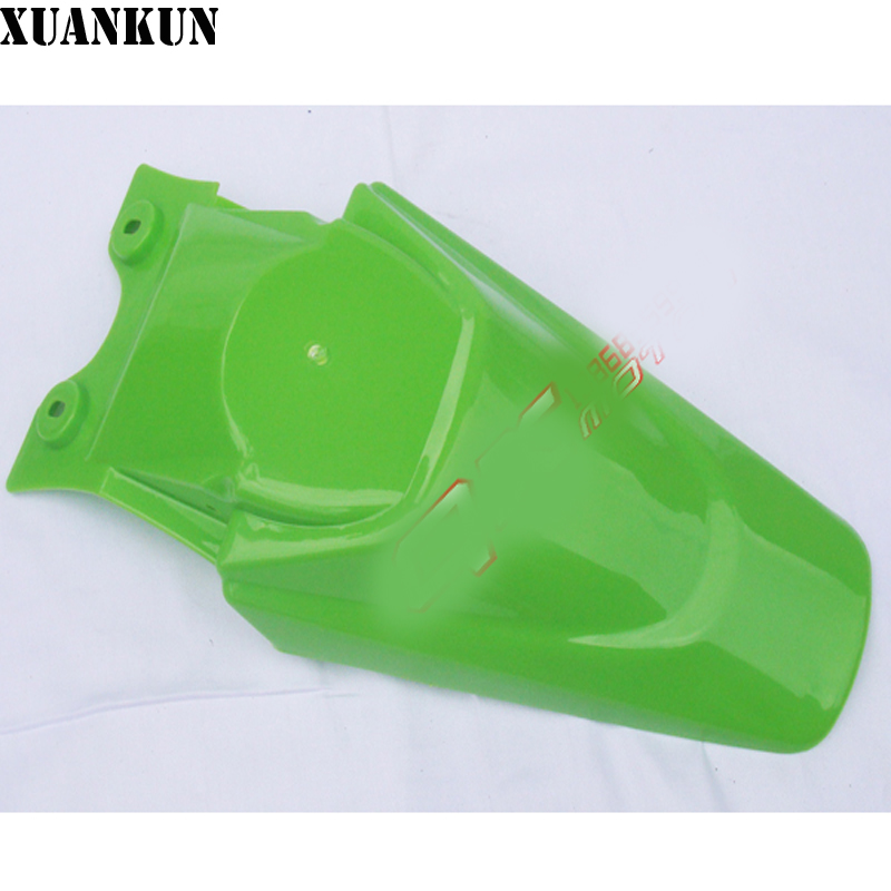 XUANKUN Section Off-road Motorcycle Accessories Rear Tail Plate Rear Trailer Rear Fender