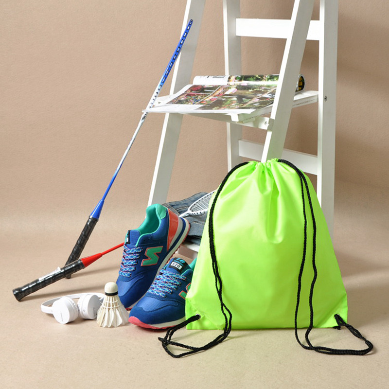 Hoomall Organizer Backpack Shoes Drawstring Waterproof Sports Storage-Bag Oxford Gym