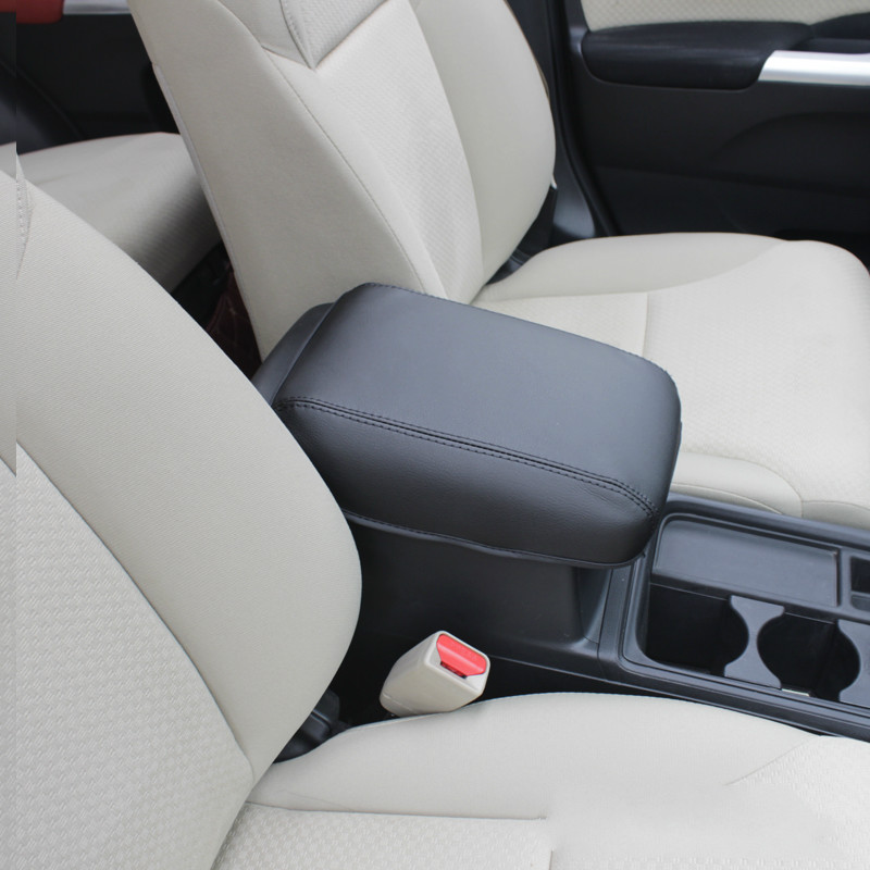 Superfaser Leder Auto Armlehnenabdeckung Pad Konsole Armlehne Pad Zubehör Für 2012 13 14 15 16 Honda CRV CR-V