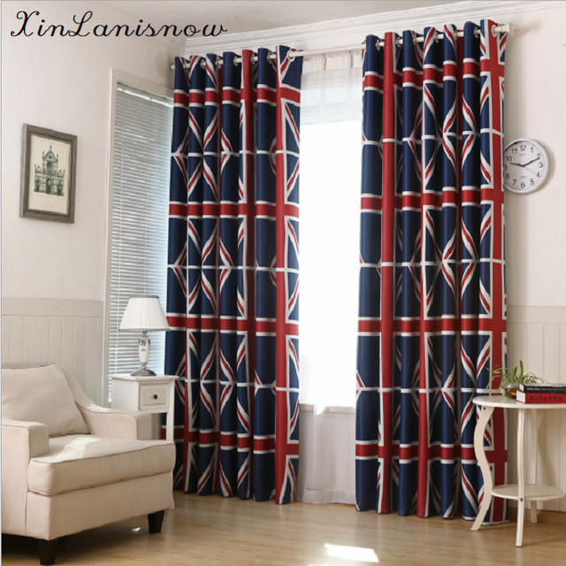 Korean Style Green Curtains For Living Dining Room Bedroom Shade Cloth UK M Word Flag Of