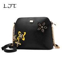 LJT New Female Hollow Out Shoulder Bag Women Elegent Messenger Bag Korean Casual Temperament Luxury Handbag Women Bags Designer