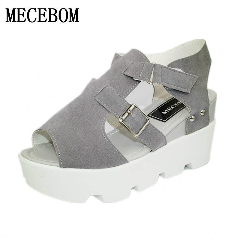 2018 Summer Sandals Shoes Women High Heel Casual Shoes footwear flip flops Open Toe Platform Gladiator Sandals Women Shoes Y48W 1