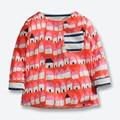 Fall Spring Baby Boys T Shirt Children Long Sleeve Cotton Kids Tees Good Quality Printed Boys Blouse Brand Boys Clothes 1 -6 Yrs