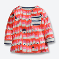 Otoño Del Resorte Del Bebé Camiseta de Los Muchachos Niños de Algodón de Manga Larga camisetas de Buena Calidad Impresa Niños Blusa de la Marca de Ropa de Los Muchachos 1-6 años