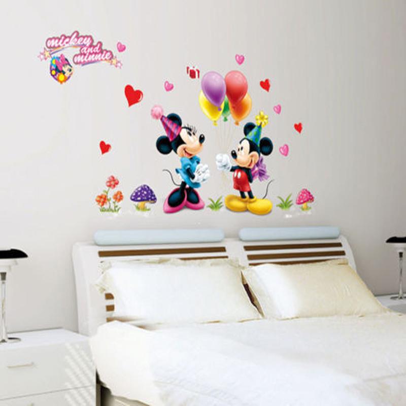 nueva etiqueta de la pared removible de dibujos animados lindo ratn decoracin del arte de