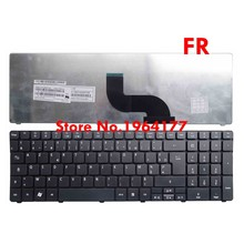 Baru FR Keyboard Laptop For Acer Aspire 7560 7560G 7735 7735G 7735Z 5740Z 7736 7736Z 7738 7735 7735Z 7735ZG Azerty Hitam(China)