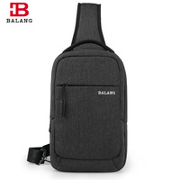 BALANG New Waterproof Oxford Chest Pack Men Travel Sling Bag Large Capacity Handbag Hot Selling Crossbody
