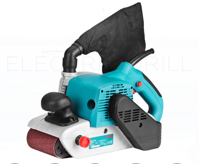 Ленточная шлифовальная машина для дерева, бумаги, стен, шлифовальная машина, электрическая шлифовальная машина,, 610*100 мм шлифовальная лента